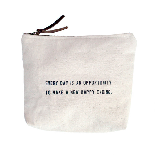 Every Day Is An Opportunity Canvas Bag by Sugarboo Designs