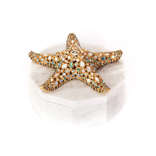 Jay Strongwater Charlene Starfish Box - Special Order