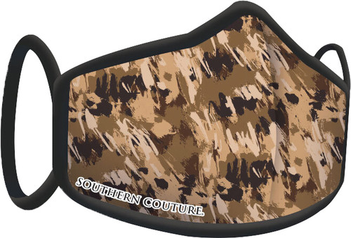 Southern Couture Camouflage Face Mask By Couture Tee  Company