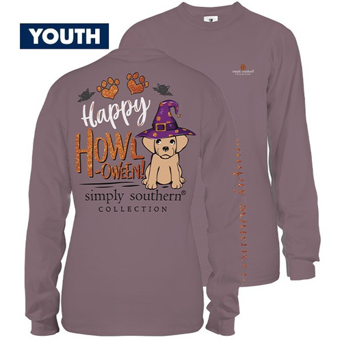 Small Howl YOUTH Long Sleeve Tee by Simply Southern