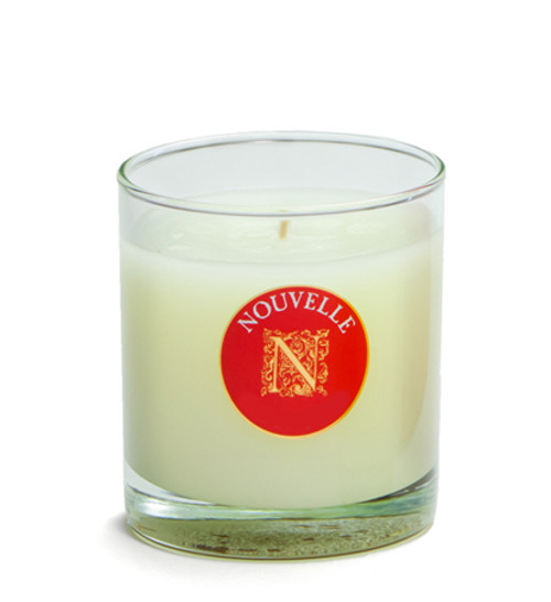 Fireside Holiday Large Signature Glass 11 oz. Nouvelle Candle 1