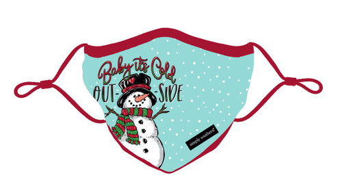 Cold Snowman Adult Mask by Simply Southern