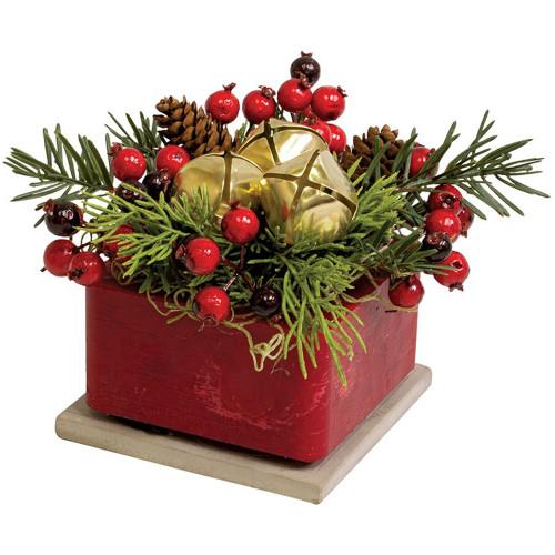 Jingle Geo Wax Pottery by Habersham Candle Co.