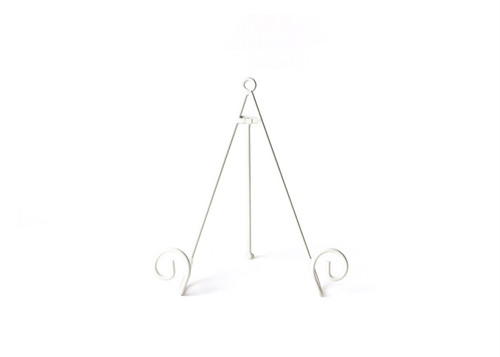 White  Large Swirl Plate Stand  by Happy Everything!