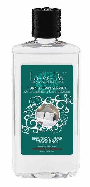 16 oz.  Turn Down Service La Tee Da Fragrance Oil