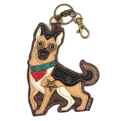 GermanShepherd Key Fob and Coin Purse by Chala