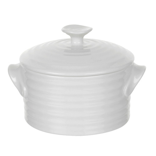 Sophie Conran White Round Lidded Pot by Portmeirion - Special Order