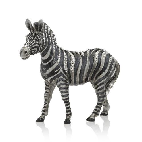 Jay Strongwater Stanley Zebra Figurine - Special Order