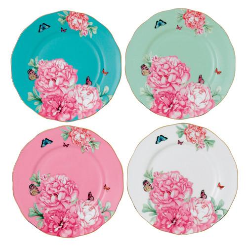 Miranda Kerr Friendship Accent Plates - Set of 4 - by Royal Albert - Special Order