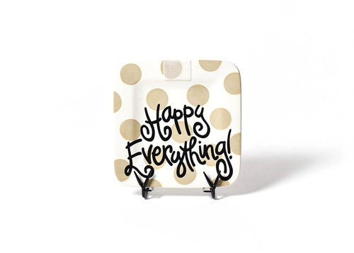 Neutral Dot Mini Square Platter by Happy Everything!