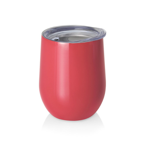 Swig 12 oz. Stemless Wine Cup - Coral