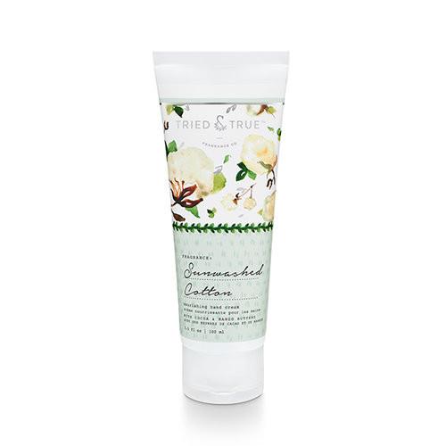 Sunwashed Cotton 3.5 fl oz. Hand Cream by Tried & True