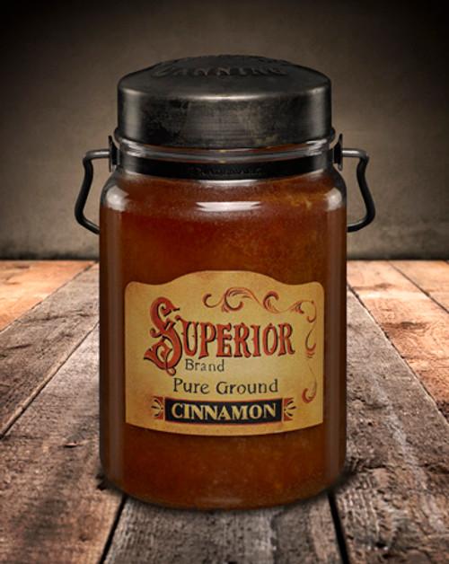 Cinnamon 26 oz. McCall's Classic Jar Candle