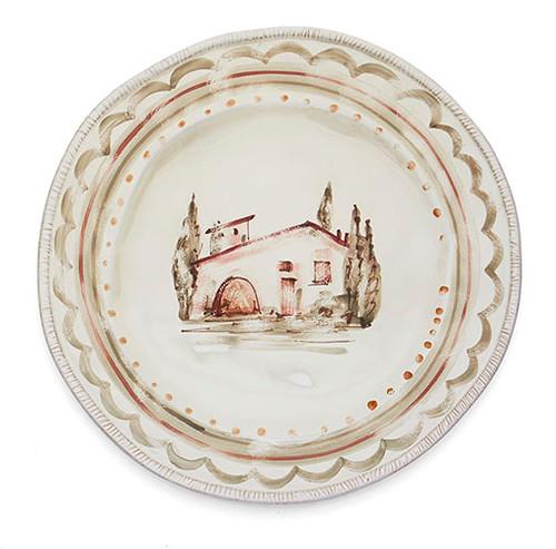 Villaggio Round Platter - Arte Italica