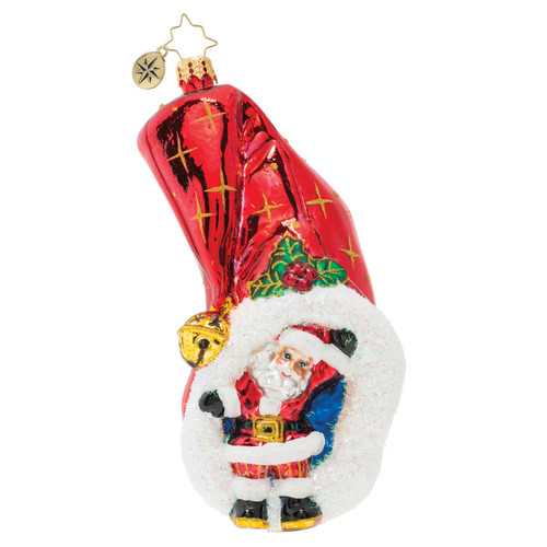 Hats Off To Christmas Ornament by Christopher Radko