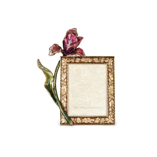 """Jay Strongwater Ilsa Tulip 3"""" x 4"""" Frame - Special Order"""