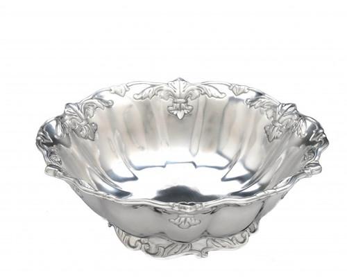 """Fleur de Lis 12"""" Salad Bowl by Arthur Court"""