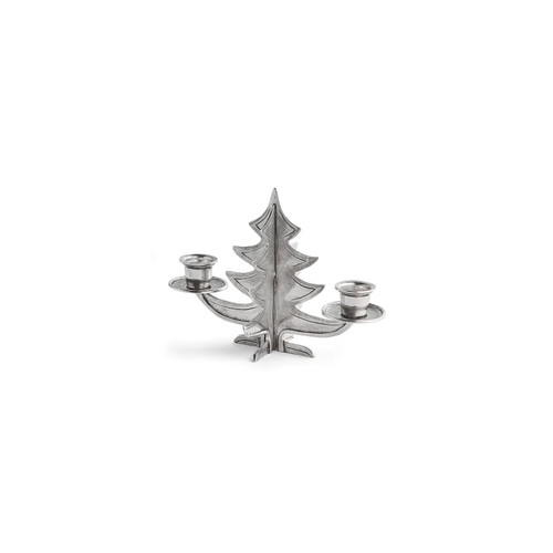 Natale Pewter Tree Candelabra - Arte Italica