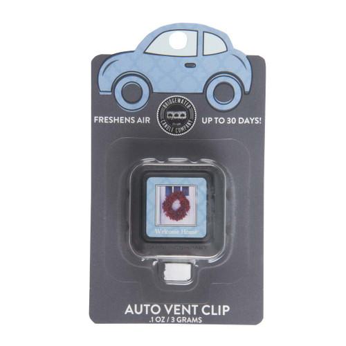 Welcome Home Auto Vent Clip - Bridgewater