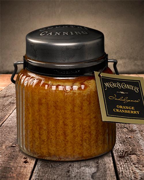 Orange Cranberry 18 oz. McCall's Indulgence Jar Candle