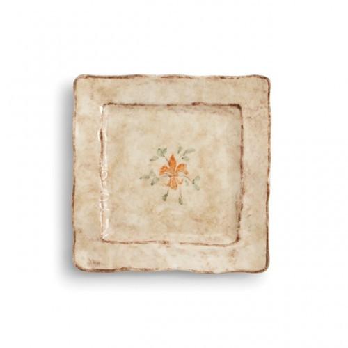 PRE-ORDER - Medici Square Salad/Dessert Plate - Arte Italica