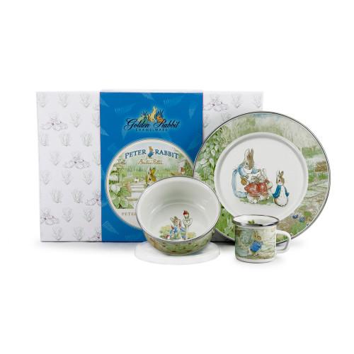 Peter Rabbit 3-Piece Child Gift Set by Golden Rabbit - Special Order