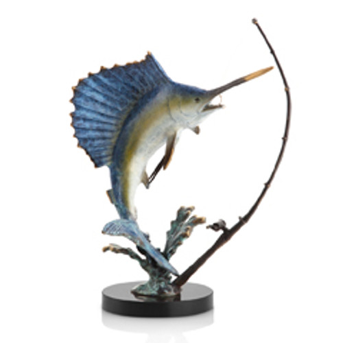 Fighting Sailfish with Tackle - SPI Home (Special Order)
