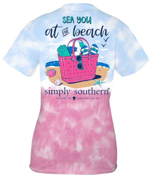 Small Sea You at the Beach Icepop Short Sleeve Tee by Simply Southern