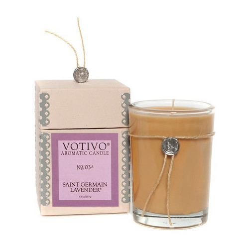 Saint Germain Lavender Aromatic Jar Votivo Candle