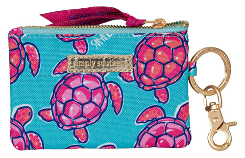 Turtle ID Coin Holder By Simply Southern