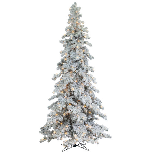 Flocked Layered 9 ft. Spruce by Sterling Tree
