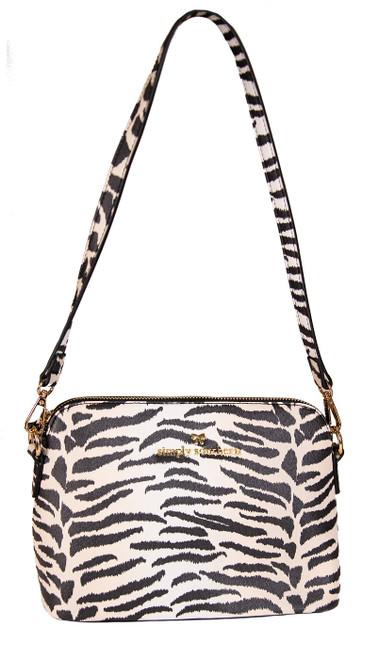 Zebra Leather Satchel by Simply Southern