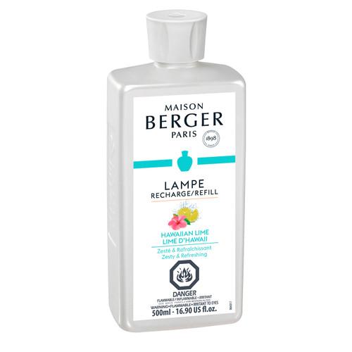 Hawaiian Lime 500 ml (16.9 oz.) Fragrance Lamp Oil - Lampe Berger by Maison Berger