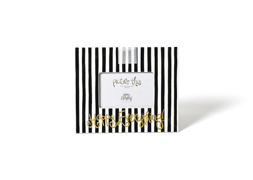 Black Stripe Happy Everything! Mini Frame by Happy Everything! - Special Order
