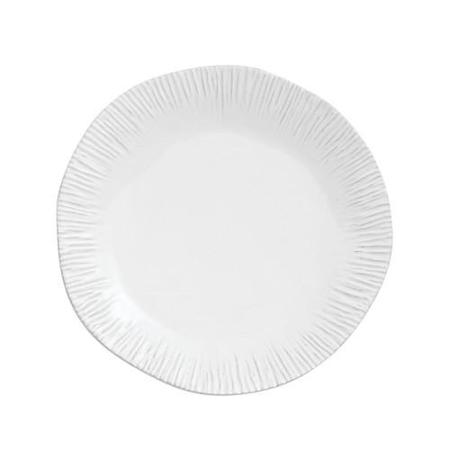 Graffiata White Dinner Plate - Arte Italica - Special Order