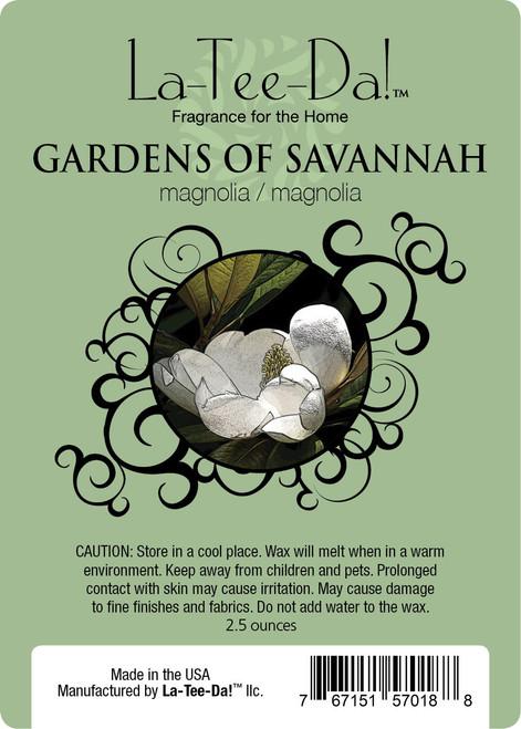 Gardens of Savannah Magic Melt by La Tee Da