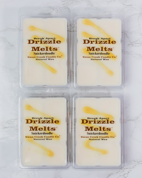 Snickerdoodle 5.25oz Swan Creek Candle Drizzle Melts 4-Pack
