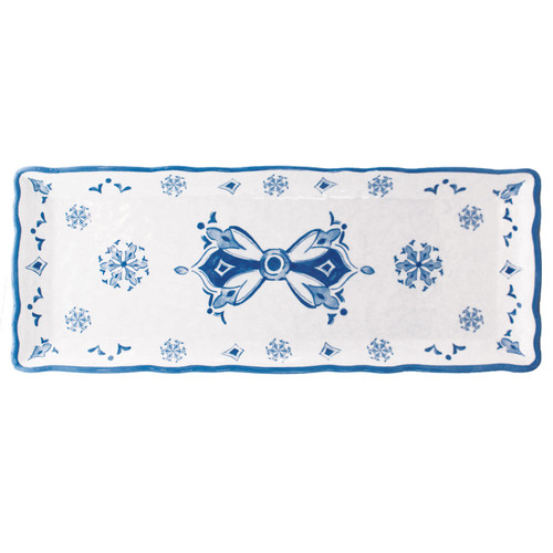 Moroccan Blue Baguette Tray by Le Cadeaux