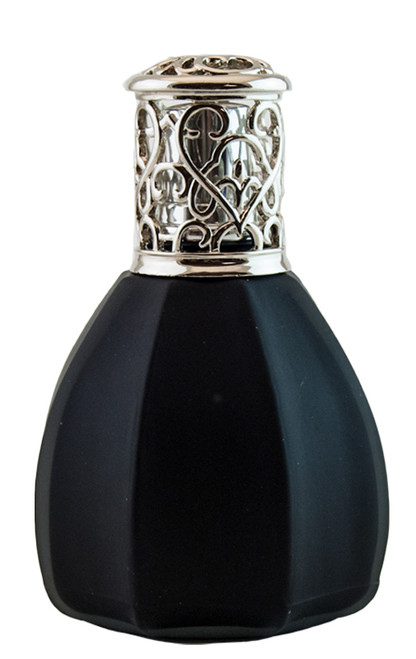 Alexandria's Fragrance Lamps: Frosted Black Fragrance Lamp by Alexandrias-Bella Breeze