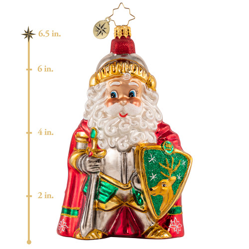 Protector Of Christmas! Ornament by Christopher Radko -