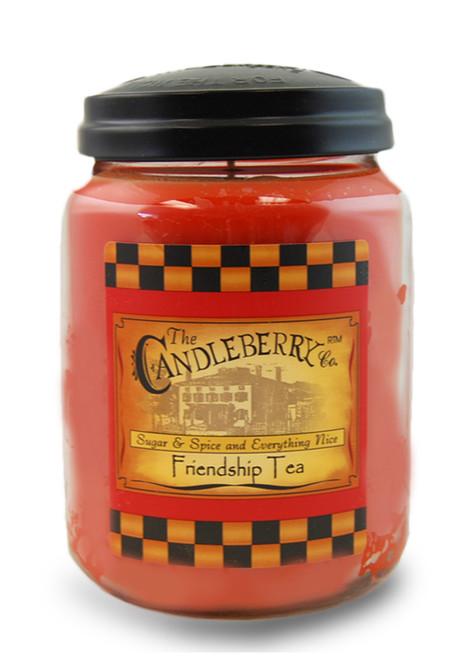 Friendship Tea 26 oz. Large Jar Candleberry Candle