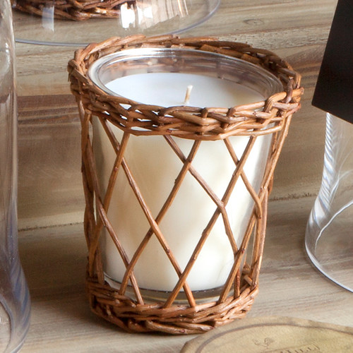 Tobacco Leaf Willow Candle by Park Hill Collection