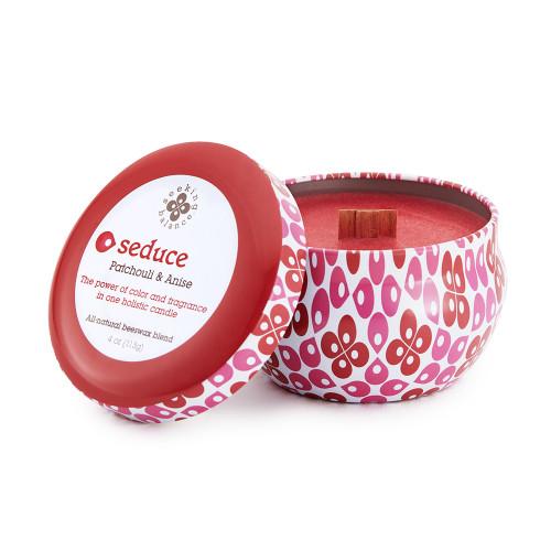 Seduce (Patchouli & Anise) 4 oz. Seeking Balance Spa Traveler Tin by Root