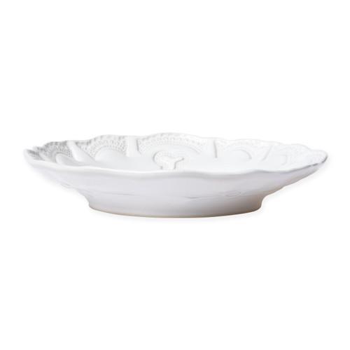 Vietri Incanto Stone White Lace Pasta Bowl