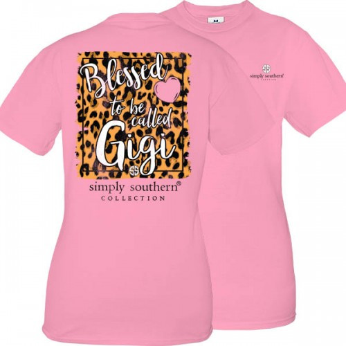 Small Blessed To Be Called Gigi Short Sleeve Tee by Simply Southern