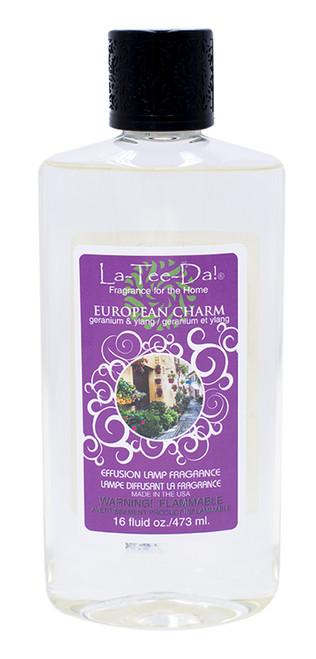 16 oz. European Charm La Tee Da Fragrance Oil