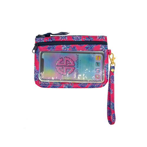 Pineapple Pink Phone Wristlet by Simply Southern