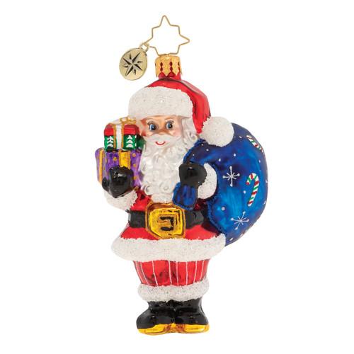 Jolly Saint Nick! Ornament by Christopher Radko