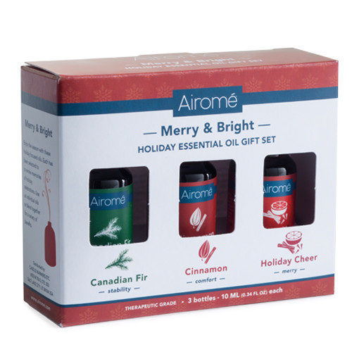 Merry & Bright Essential Oils Gift Set