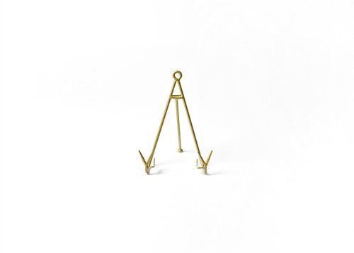 Gold Medium Flare Plate Stand by Happy Everything!